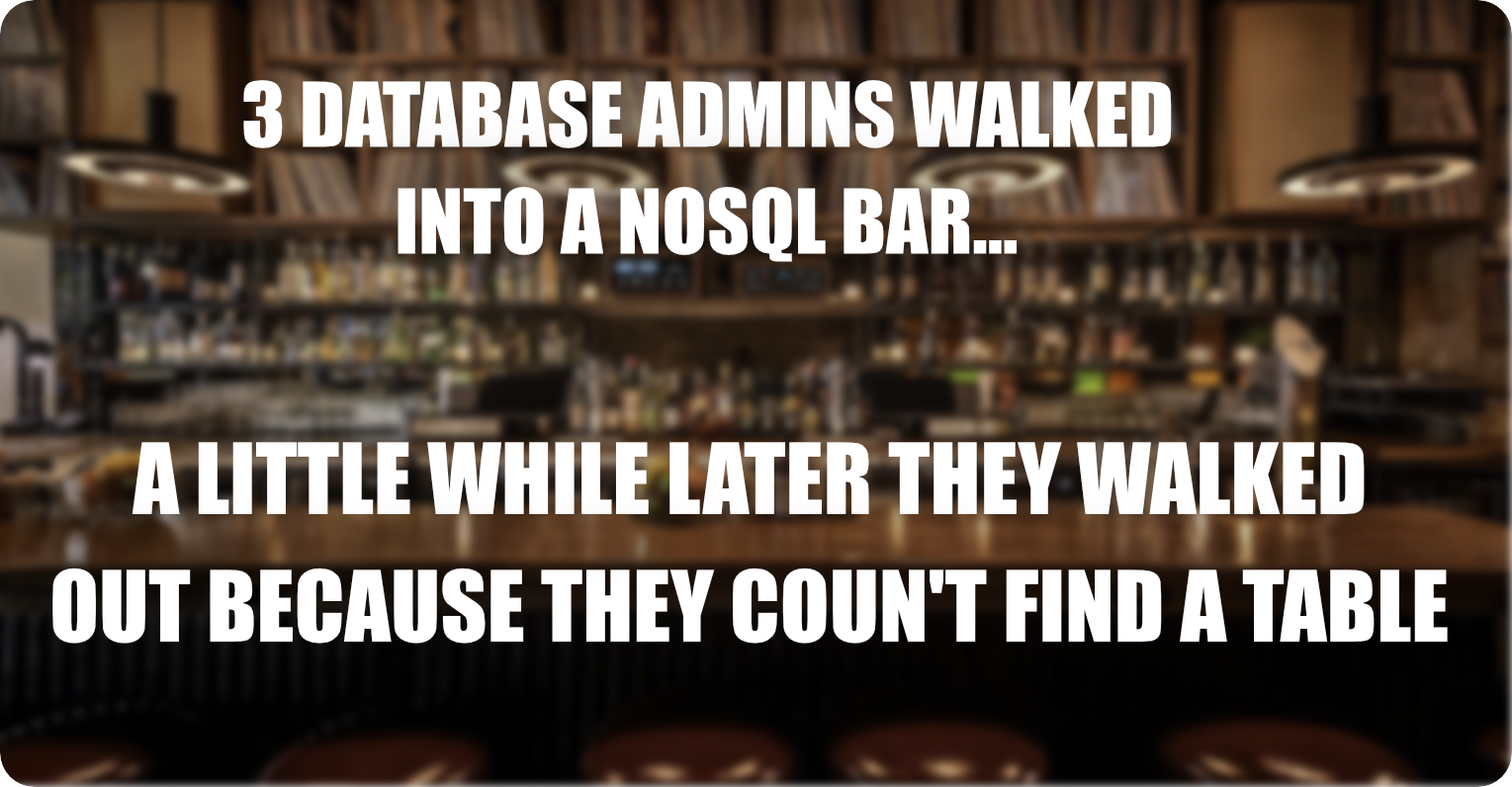 NoSQL-Meme