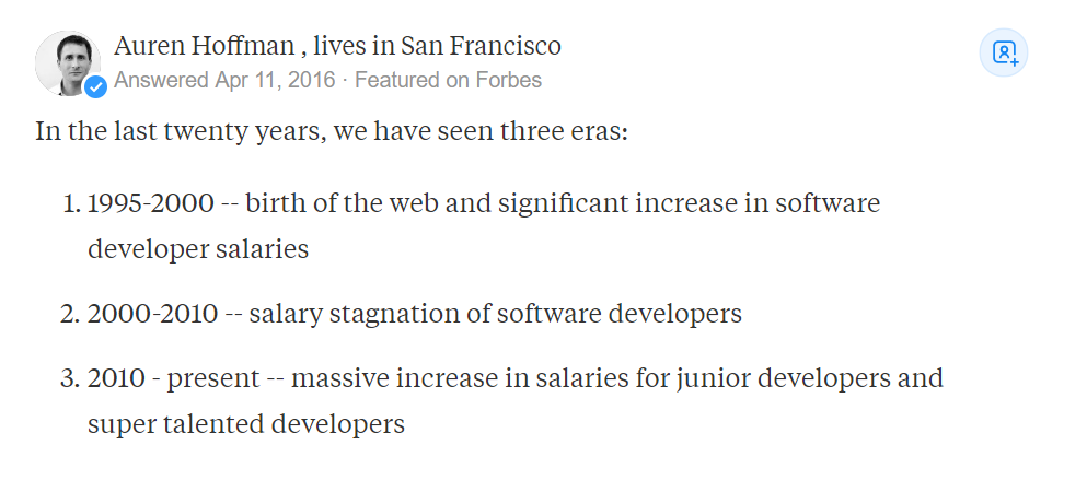 Increase your salary as Software Developer : Learn Programming from