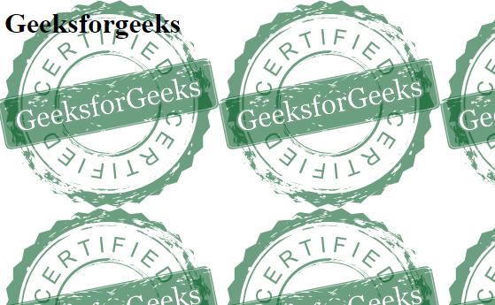 CSS | Background - GeeksforGeeks