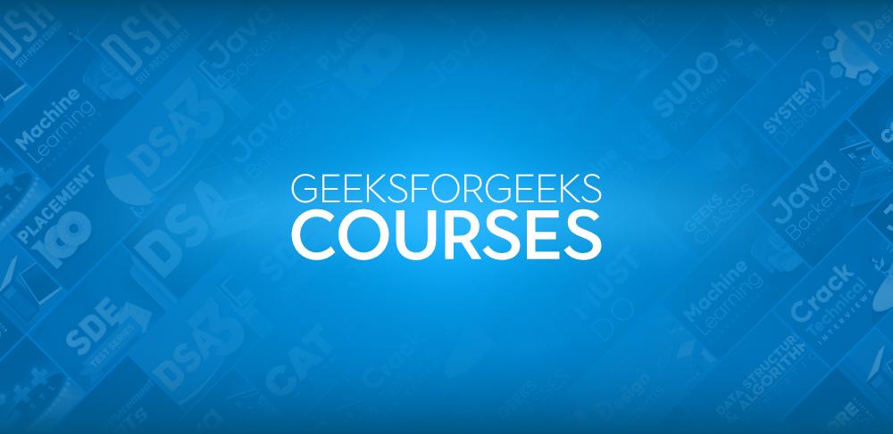 courses-by-geeksforgeeks