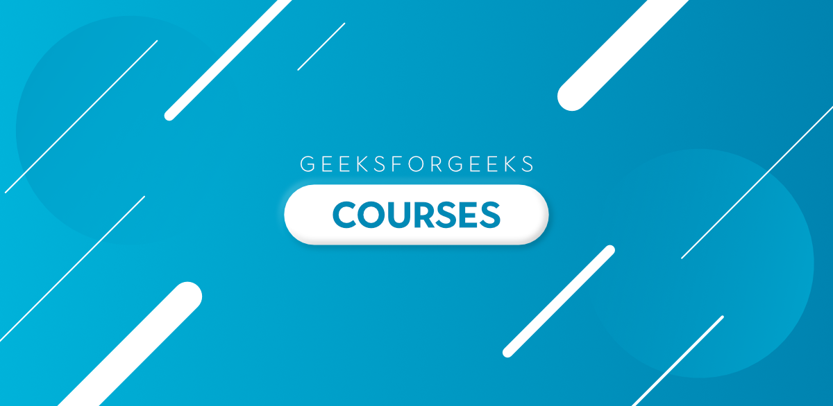 Courses-By-GeeksforGeeks