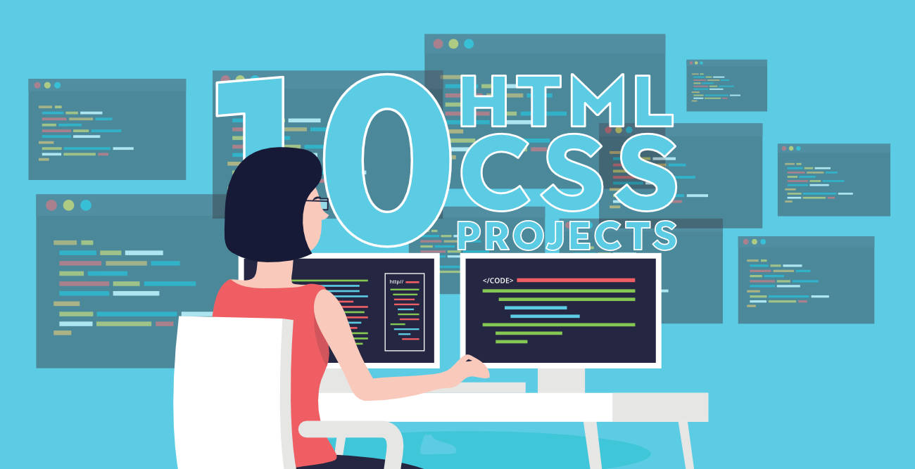 Top-10-Projects-For-Beginners-To-Practice-HTML-and-CSS-Skills