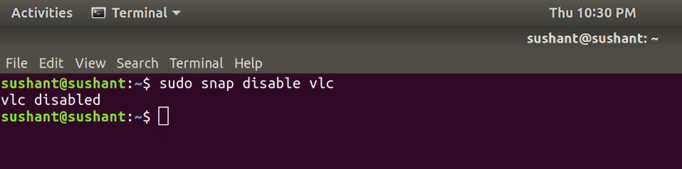 Disabling-Applications-snap-package-manager