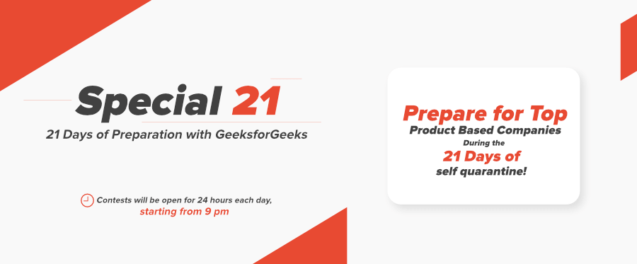 GeeksforGeeks-Special-21-Prepare-for-Top-Tech-Companies