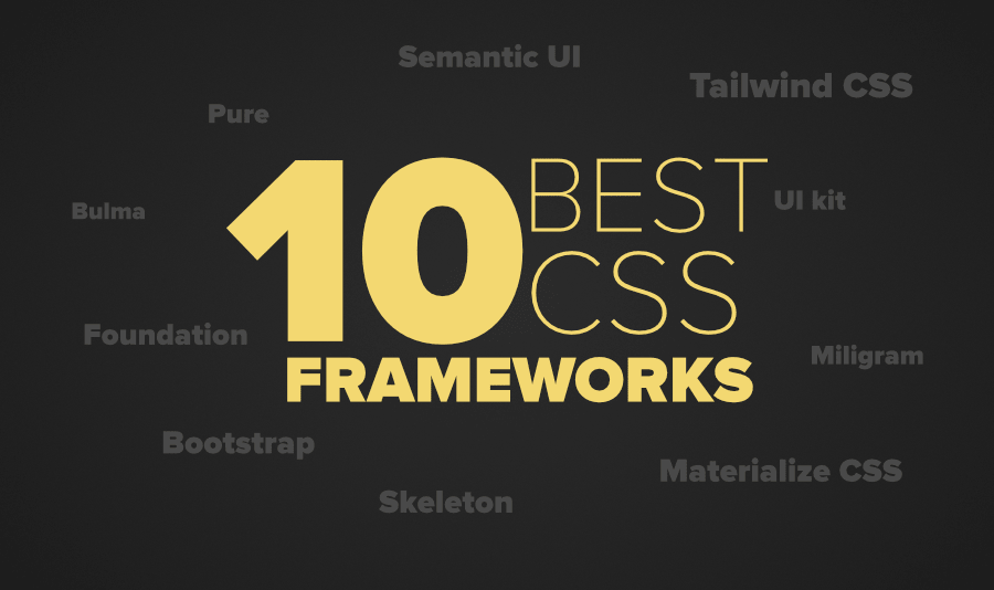 Best Css Framework 2021 10 Best CSS Frameworks For Frontend Developers in 2020   GeeksforGeeks