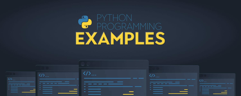 Python-Programming-Examples