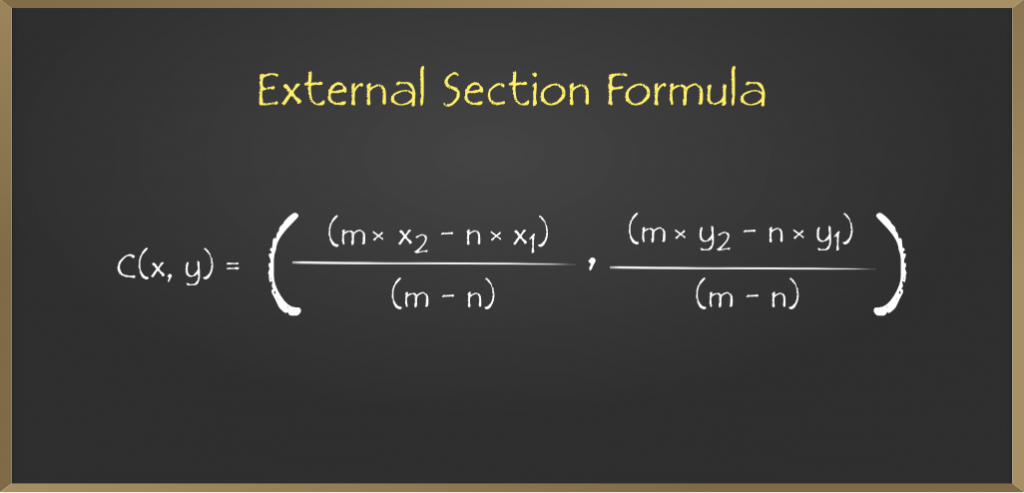 External-Section-Formula