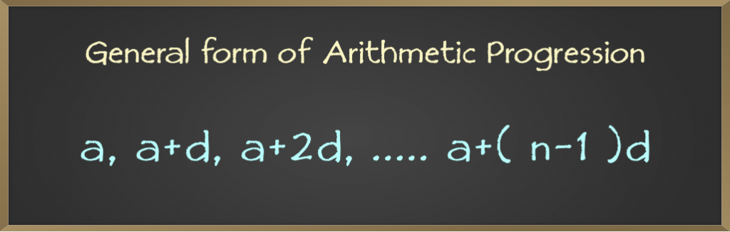 General-form-of-Arithmetic-Progression