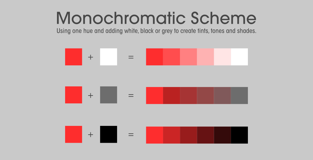 Monochromatic-Color-Scheme