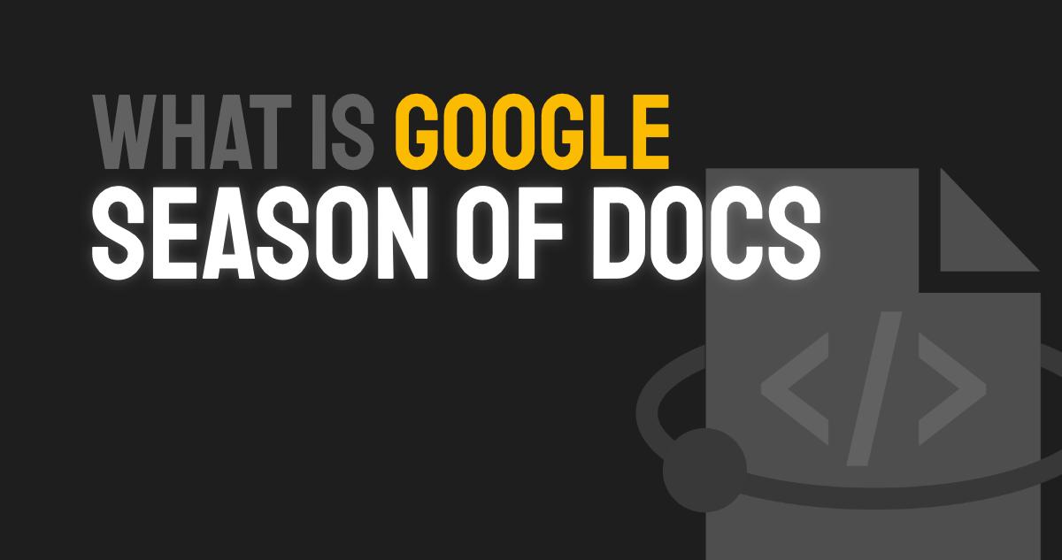 Google-Season-of-Docs
