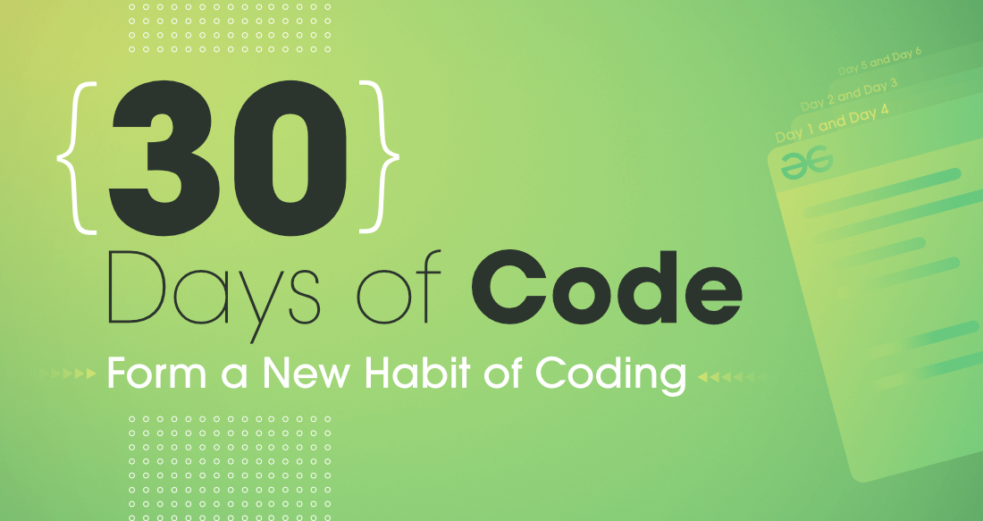 30 Days to Form a New Habit of Coding – Are You In?