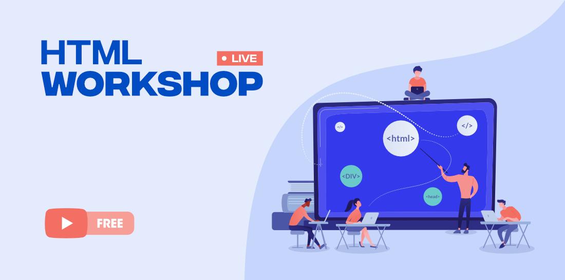 HTML-Workshop-FREE-Course-By-GeeksforGeks