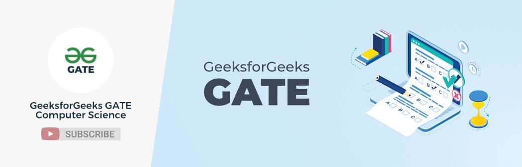 GeeksforGeeks-GATE-Computer-Science