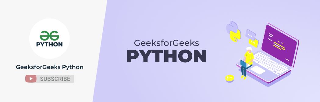 GeeksforGeeks-Python