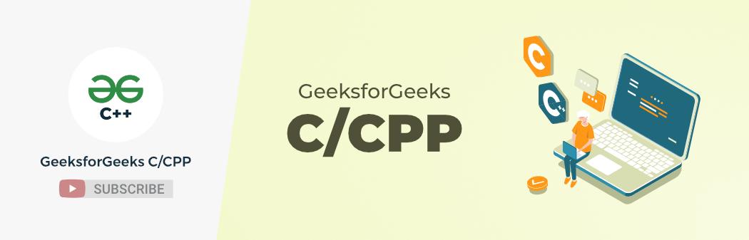 GeeksforGeeks-C-CPP