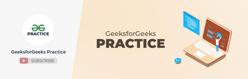 GeeksforGeeks-Practice