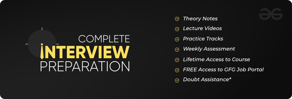Complete-Interview-Preparation-By-GeeksforGeeks