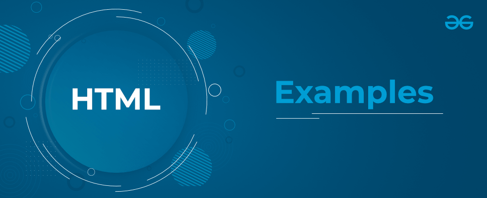 HTML Examples
