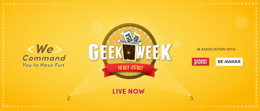 Geek Week 2021 - Biggest Festival For Programmers