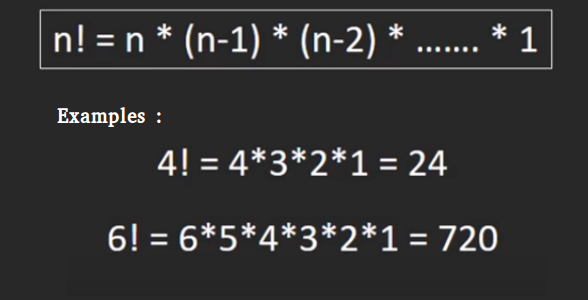 Factorial of a large number - GeeksforGeeks
