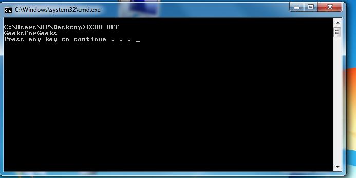 Advanced M S.-DOS Batch File Programming