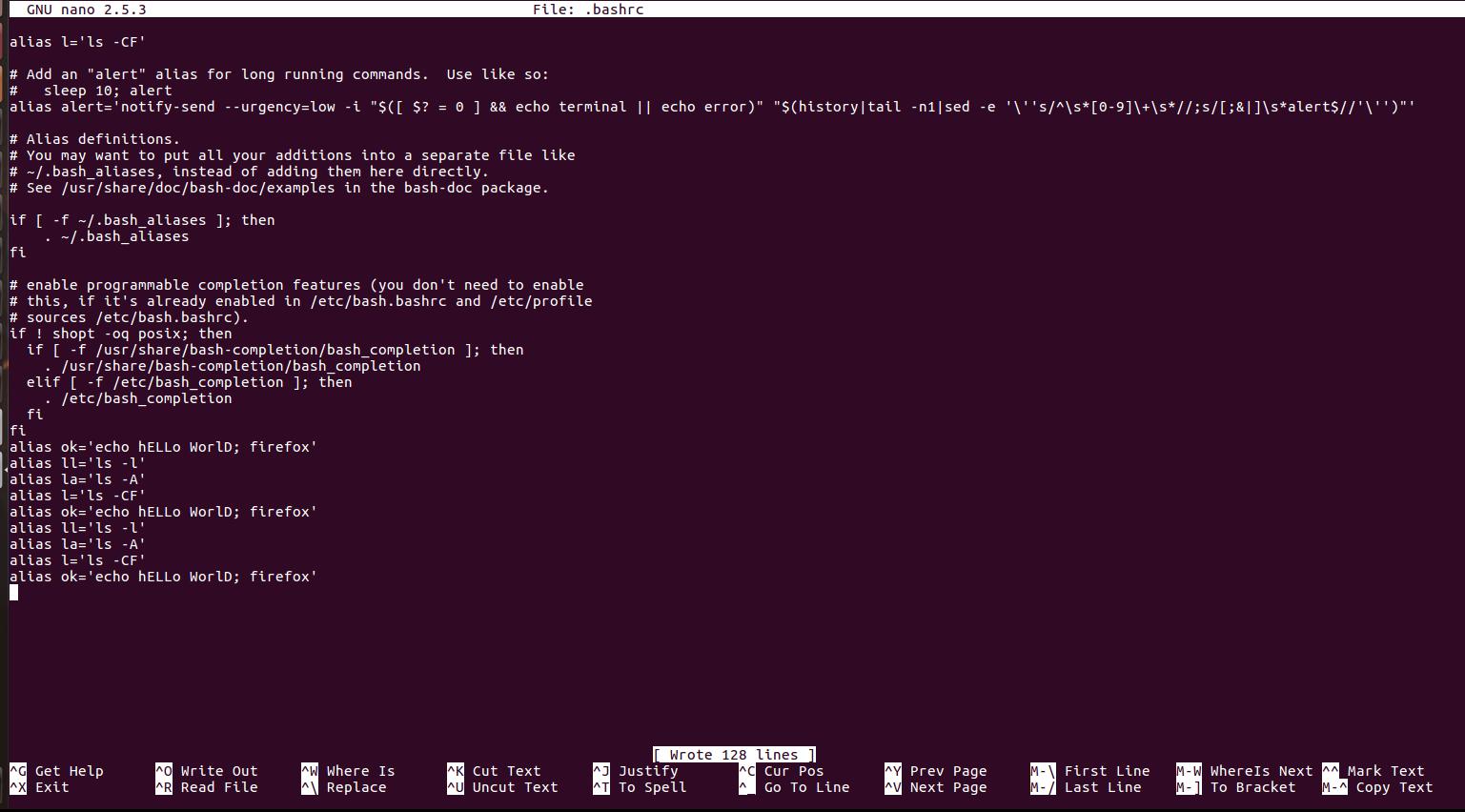 Custom Commands For Linux Terminal Geeksforgeeks