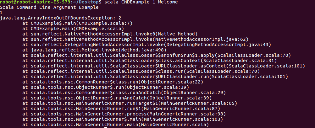 2 559 - Run Scala Application From Command Line