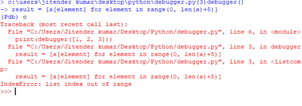 Debugging Python code using breakpoint() and pdb - GeeksforGeeks