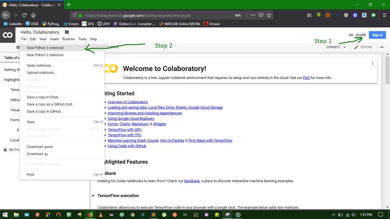 Download Anything to Google Drive using Google colab - GeeksforGeeks