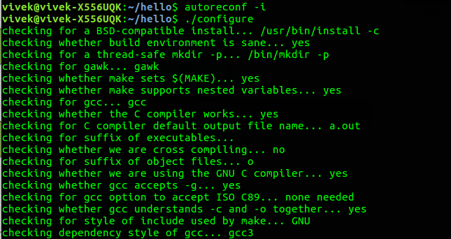 autoreconf command in Linux with examples - GeeksforGeeks