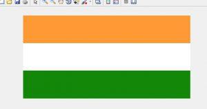 Draw Indian Flag using matlab - GeeksforGeeks