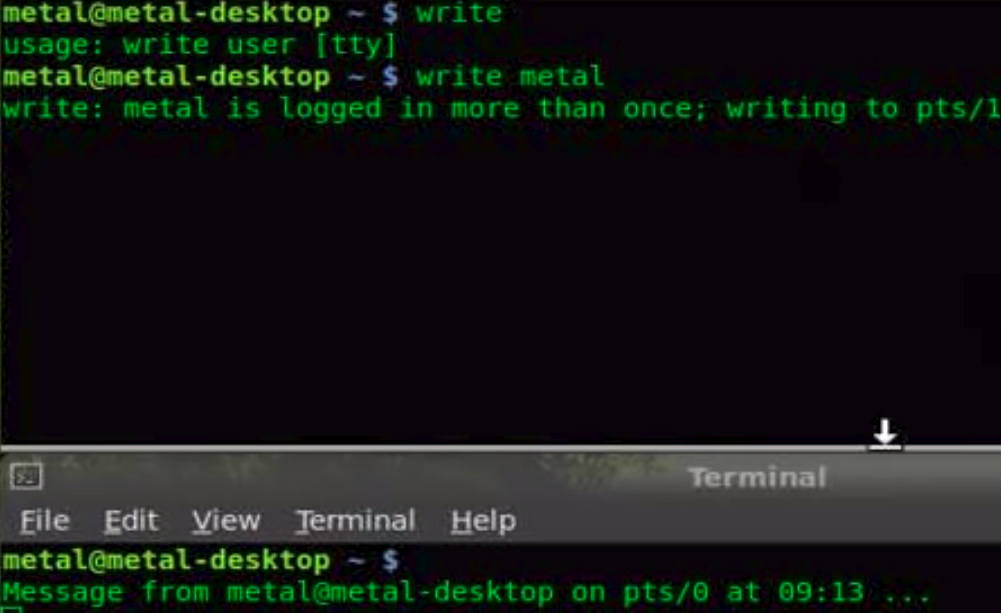 write command in Linux with Examples - GeeksforGeeks