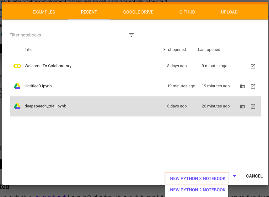 How to run Python code on Google Colaboratory - GeeksforGeeks