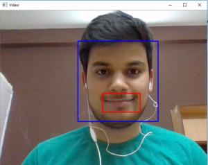 Python   Smile detection using OpenCV - GeeksforGeeks