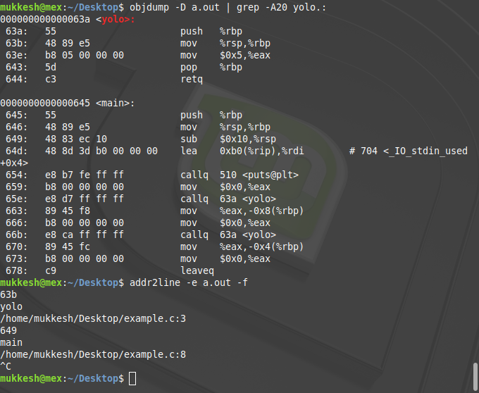 addr2line command in Linux with Examples - GeeksforGeeks