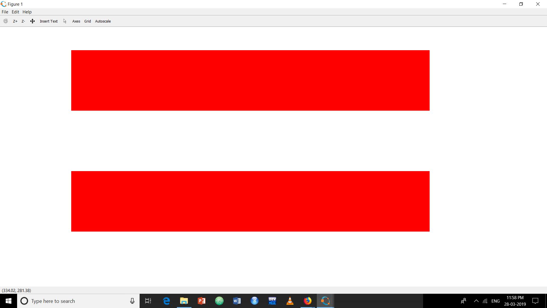 Draw Austria flag using Matlab - GeeksforGeeks