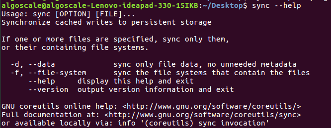 sync command in Linux with Examples - GeeksforGeeks