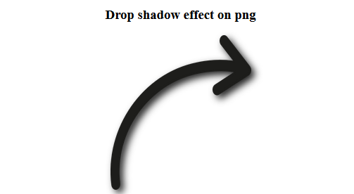 Drop shadow for PNG image using CSS - GeeksforGeeks