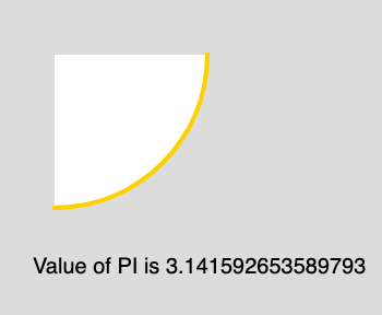p5 js | Constants | PI - GeeksforGeeks