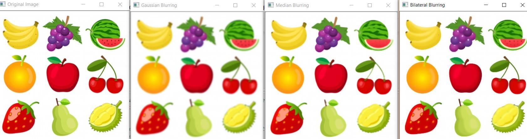 Python | Image blurring using OpenCV - GeeksforGeeks