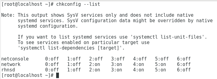chkconfig command in Linux with Examples - GeeksforGeeks
