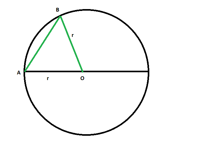 Find The Diameter Or Longest Chord Of A Circle