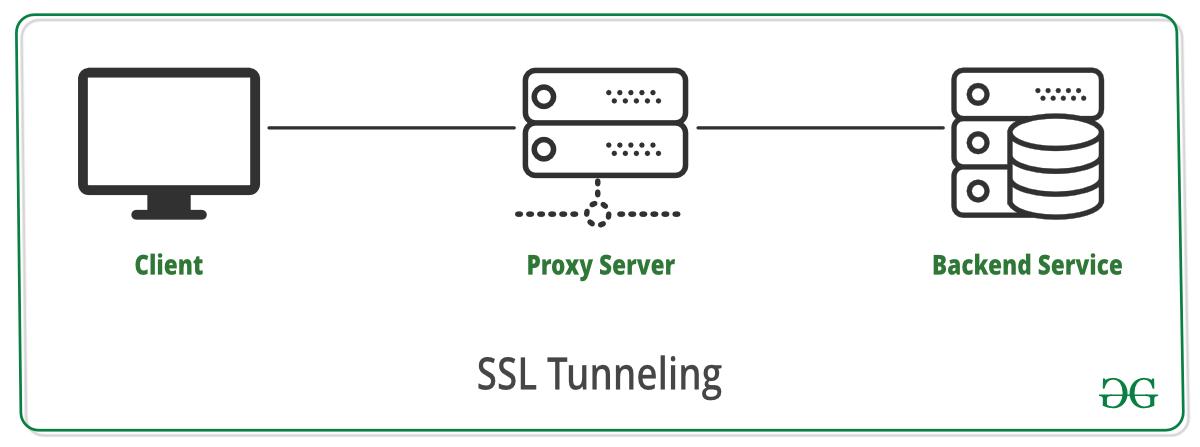 SSL-Tunneling