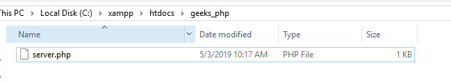 Download file from URL using PHP - GeeksforGeeks
