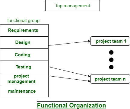 Software Development Organizational Structure Geeksforgeeks
