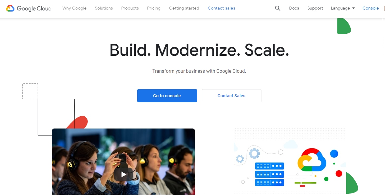 Create a Virtual Machine and Set up API on Google Cloud