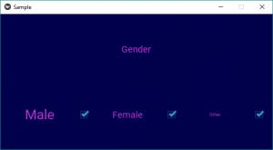 Python | Create checkbox using  kv file - GeeksforGeeks