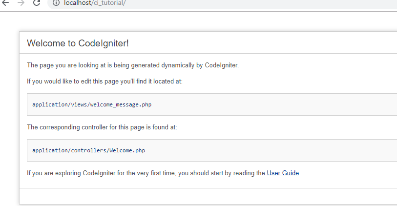 Introduction To Codeignitor Php Geeksforgeeks