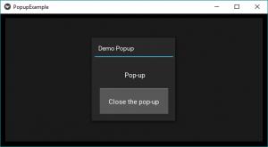 Python | Popup widget in Kivy - GeeksforGeeks