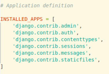 Django - Creating Apps | Set - 1 - GeeksforGeeks